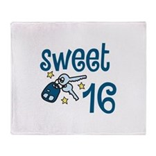 Sweet 16 Throw Blanket