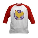 Buff Chantecler Cock Kids Baseball Jersey