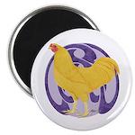 Buff Chantecler Cock Magnet