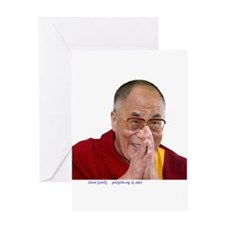 dalai1a Greeting Cards