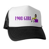 1908 Birthday Girl Trucker Hat