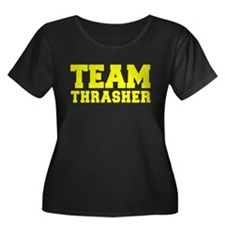 TEAM THRASHER Plus Size T-Shirt