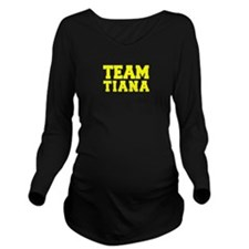 TEAM TIANA Long Sleeve Maternity T-Shirt