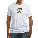 Phyllis Initial R Fitted T-Shirt