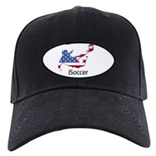 iSoccer USA Baseball Hat