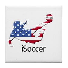 iSoccer USA Tile Coaster