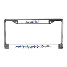 6 Billfish License Plate Frame