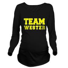 TEAM WESTER Long Sleeve Maternity T-Shirt