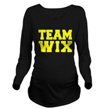 TEAM WIX Long Sleeve Maternity T-Shirt