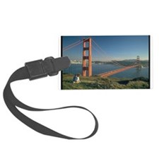 san franciso golden gate bridge gifts Luggage Tag