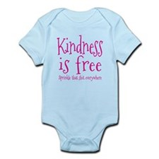 Sprinkle Kindness Pink Infant Bodysuit