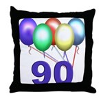 90 Gifts Throw Pillow