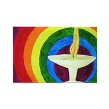 Funny Chalice Rectangle Magnet (100 pack)