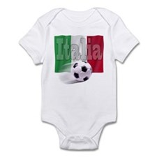 Soccer Flag Italia Infant Bodysuit