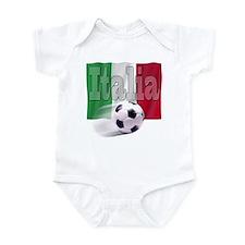 Soccer Flag Italia Onesie