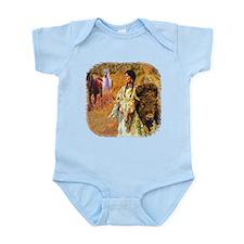 Buffalo Woman Infant Bodysuit