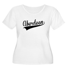 Aberdeen, Retro, Plus Size T-Shirt