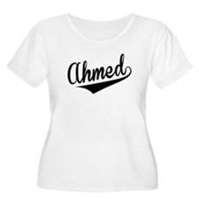 Ahmed, Retro, Plus Size T-Shirt