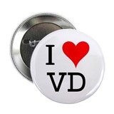 "I Love VD 2.25"" Button (100 pack)"