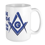 The modern Blue Lodge Master Mason Large Mug