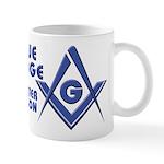 The modern Blue Lodge Master Mason Mug