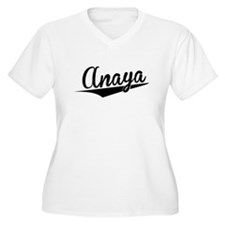 Anaya, Retro, Plus Size T-Shirt