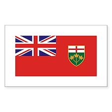 Ontario Rectangle Decal