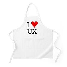 I Love UX BBQ Apron