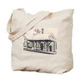 *Wayland RR Station (F)  Tote Bag
