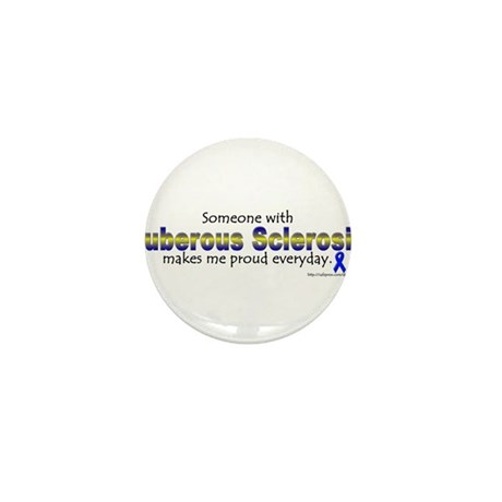 Tuberous Sclerosis Pride Mini Button