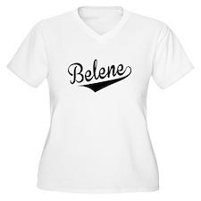 Belene, Retro, Plus Size T-Shirt