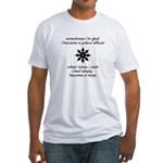 Ninja Police Fitted T-Shirt