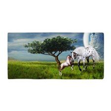 Horses Love Forever Beach Towel