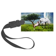 Horses Love Forever Luggage Tag