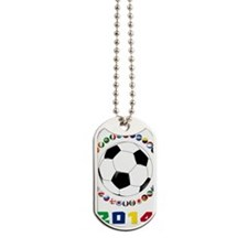 Brazil Soccer 2014 Dog Tags