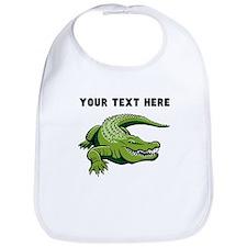 Custom Green Alligator Bib