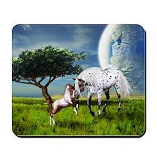 Horses Love Forever Mousepad