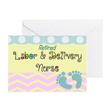 LD Nurse 6 Greeting Cards
