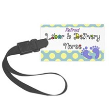 LD nurse 4 Luggage Tag