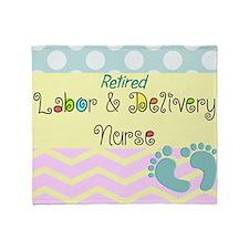 LD Nurse 6 Throw Blanket