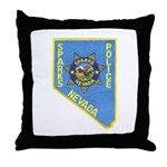 Sparks Police Throw Pillow