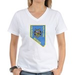 Sparks Police Women's V-Neck T-Shirt