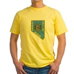 Sparks Police Yellow T-Shirt