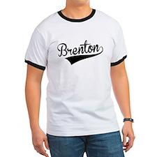 Brenton, Retro, T-Shirt