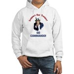 GO COMMANDO! Hooded Sweatshirt