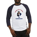 GO COMMANDO! Baseball Jersey