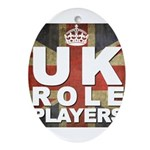 UK Role Players Ornament (Oval)