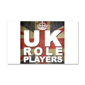 UK Role Players Car Magnet 20 x 12