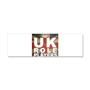 UK Role Players Car Magnet 10 x 3