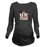 UK Role Players Long Sleeve Maternity T-Shirt
